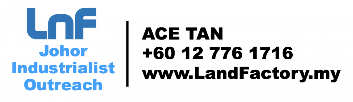 Ace Tan JB Land and Factory for Sale or Rent